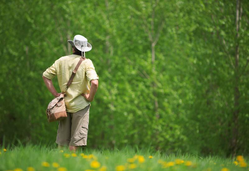 به آغوش طبیعت بروید - مدیریت استرس