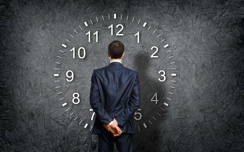 میترسید وقتتان تلف شود