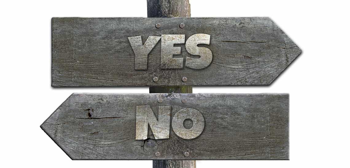 چطور بدون عذاب وجدان نه بگوییم؟