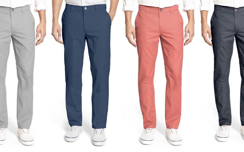 شلوارهای کتان در مقایسه با جین انتخاب مناسبتری برای تابستان هستند.