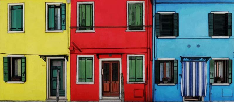 پنجره های رنگی