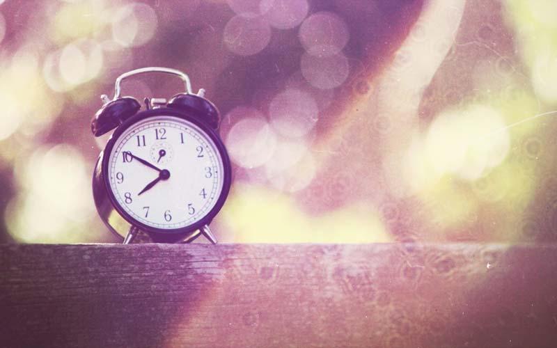 زمان بندی و وقت شناسی