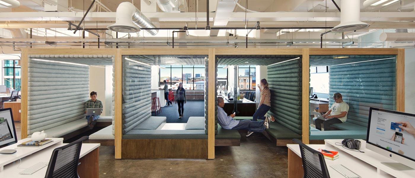 ۷ فاکتور برای طراحی یک محیط کار فوقالعاده