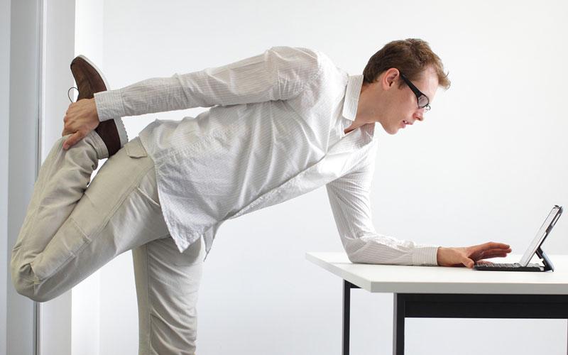 تحرک داشتن در محل کار