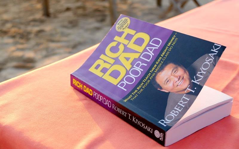 کتاب پدر پولدار پدر بی پول - رابرت کیوساکی