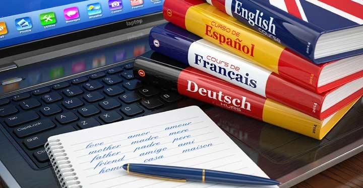 یادگیری آنلاین زبان خارجی
