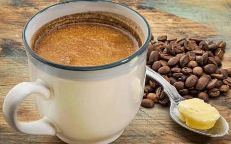 قهوه و روغن نارگیل