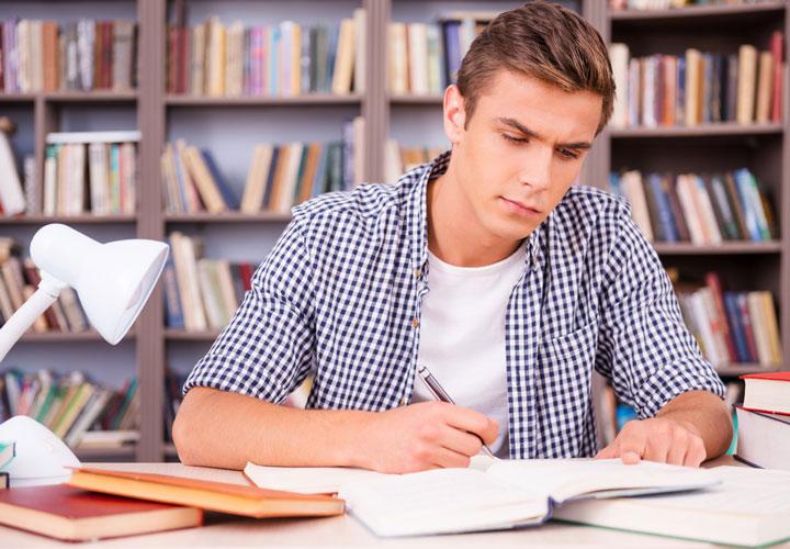 درس خواندن برای امتحان