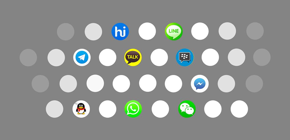 چیزهایی که متخصصین بازاریابی باید در مورد اپلیکیشنهای پیامرسان بدانند