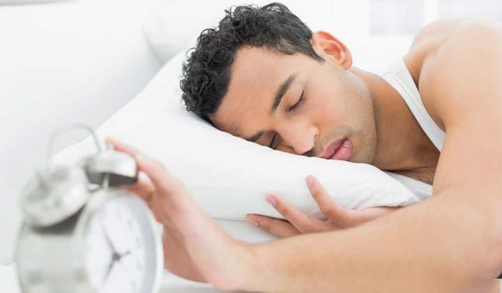 خواب کافی- ساعت زنگ دار