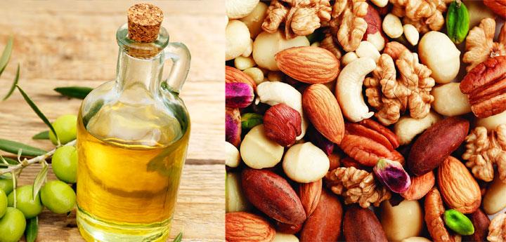 nuts-oliveoil