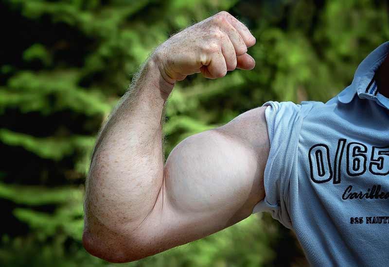 قدرت بیشتر عضله بیشتر
