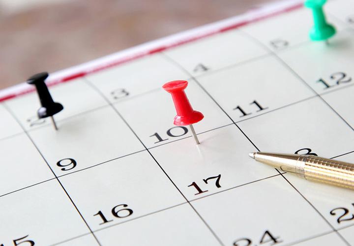 علامت زدن جلسههای کلاس در تقویم