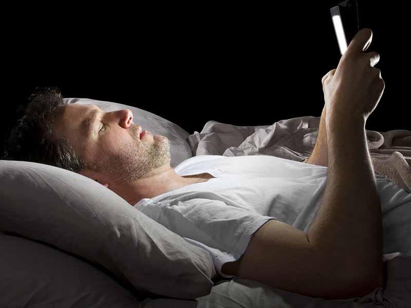 نور صفحهی موبایل
