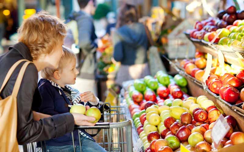 خرید خوراکیهای سالم