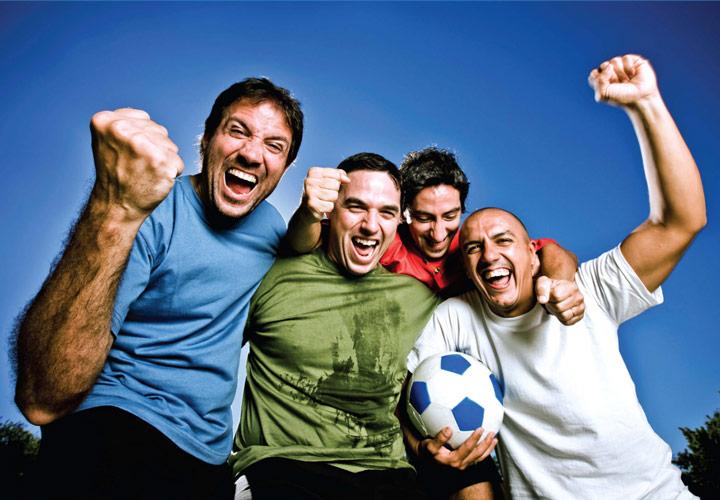 ورزش کردن با دوستان غیرسیگاری