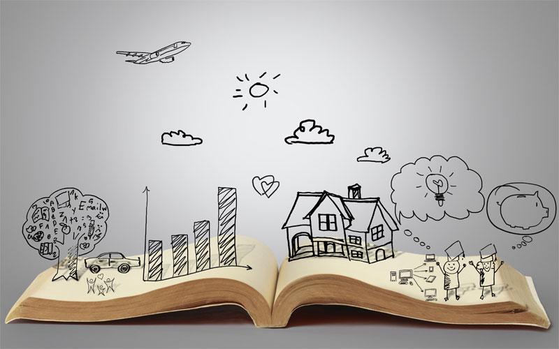 چگونه کتاب بنویسیم - طرح داستان