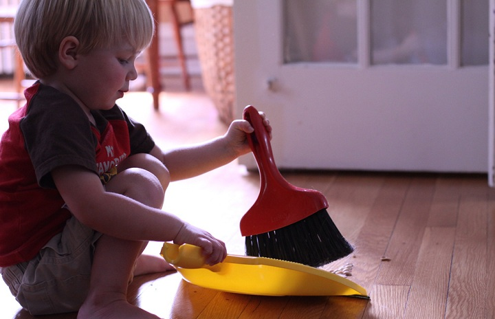 مسئولیت دادن به کودک