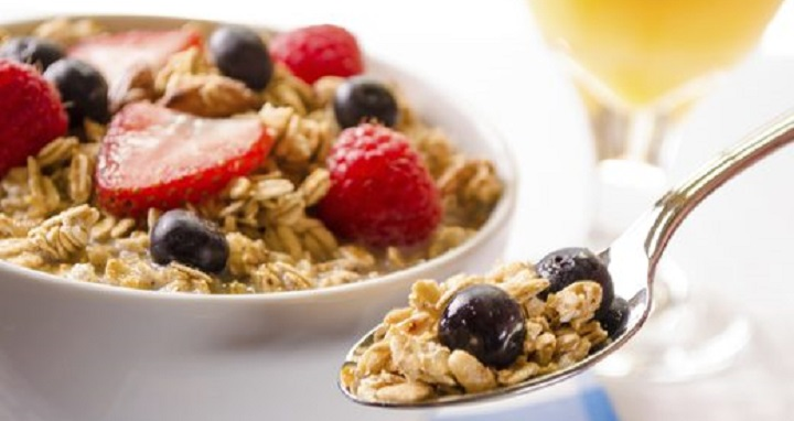 مصرف غلات صبحانه برای داشتن خواب راحت