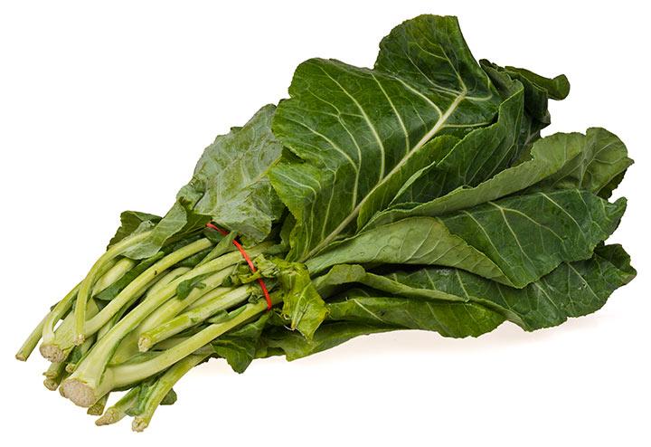 برگ خردل مملو از ویتامین سی و املاح معدنی است.