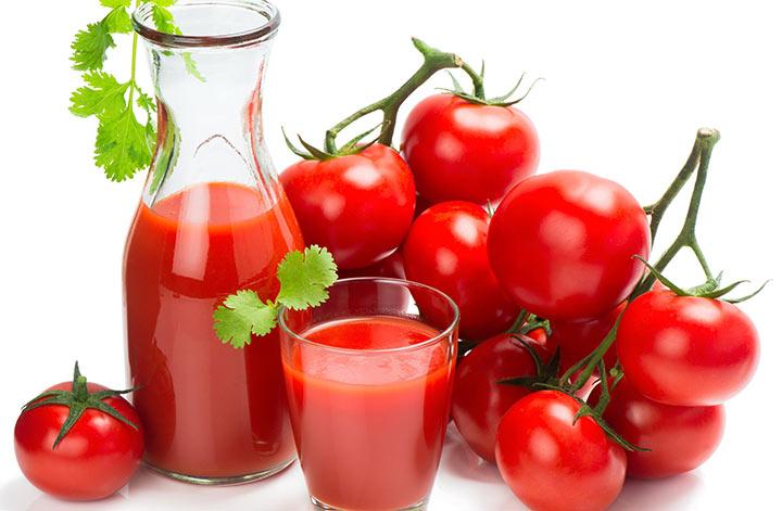 گوجهفرنگی سرشار از ویتامین سی است.
