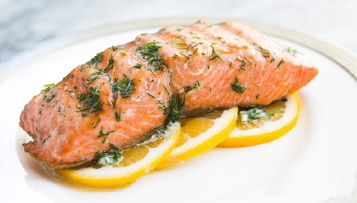 مصرف ماهی سالمون برای داشتن خواب راحت