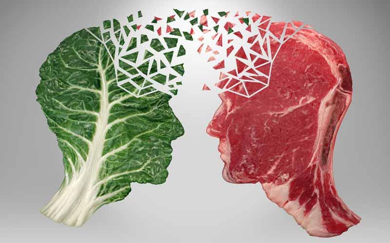 گیاهخواری یا گوشتخواری