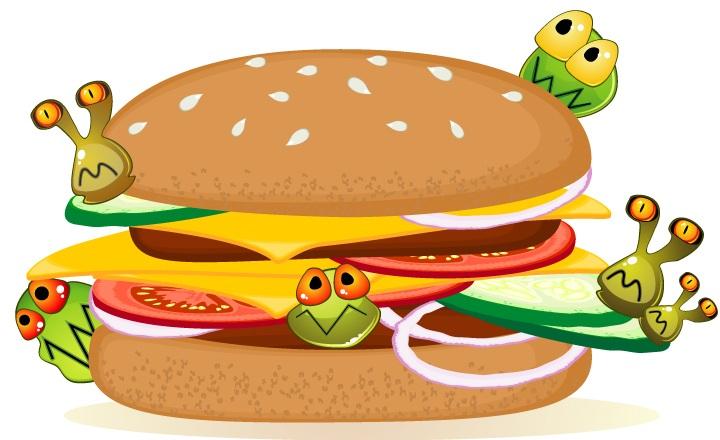 غذای مضر