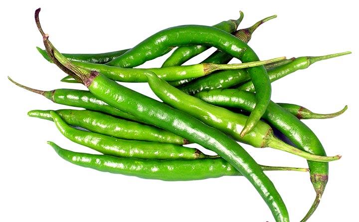 بین فلفلها، فلفل سبز بیشترین مقدار ویتامین سی را دارد.
