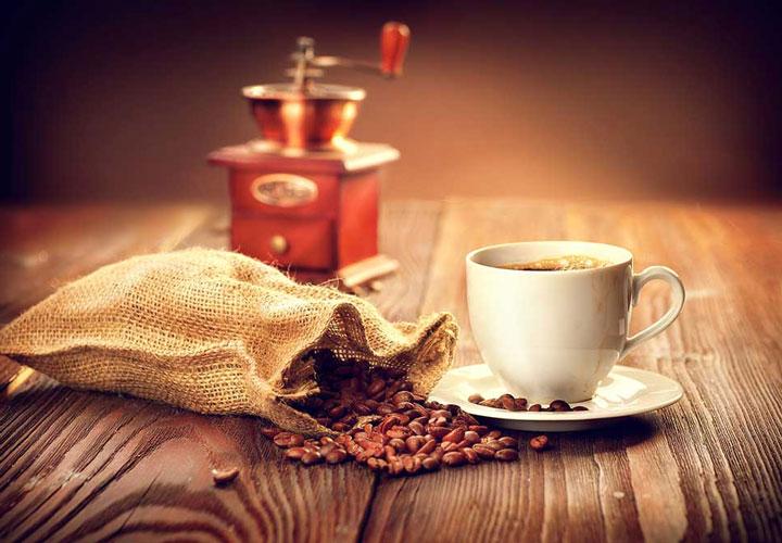 قهوه تازه آسیاب شده