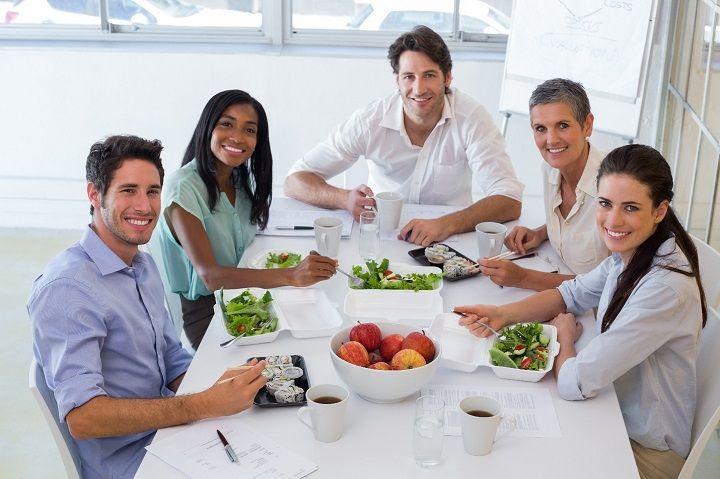 غذای خانگی در محل کار