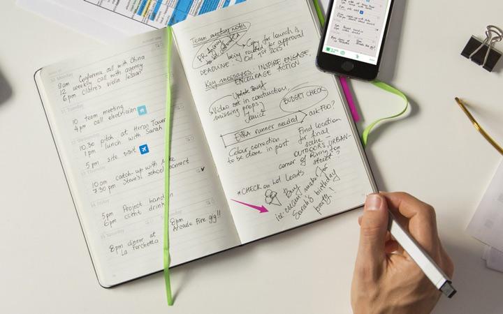 افراد کارآمد همیشه یک دفتر یادداشت به همراه خود دارند.