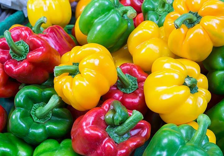 سبزیجات رنگی