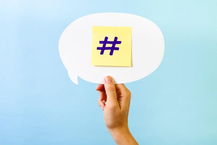 هشتگ-شبکه های اجتماعی