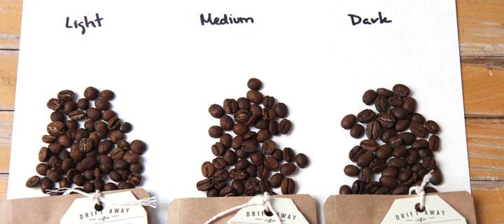 درجه برشتگی قهوه