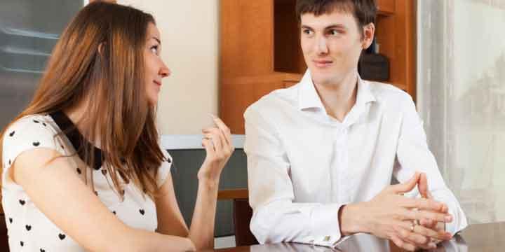زوج های خوشبخت به یکدیگر گوش میدهند