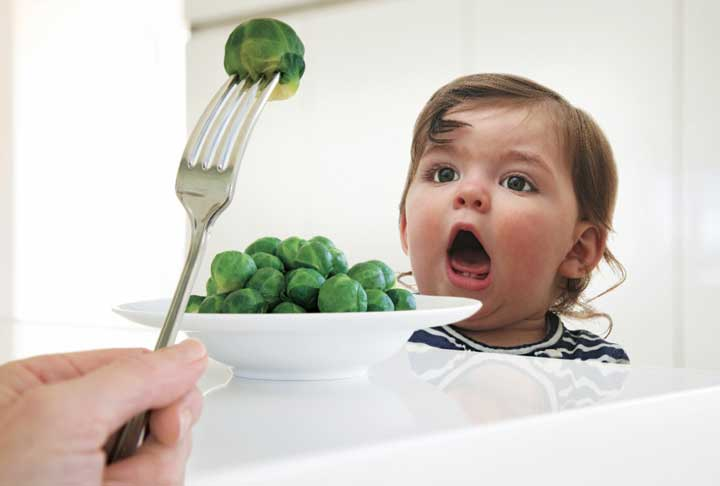 خلاقیت در تغذیه کودک