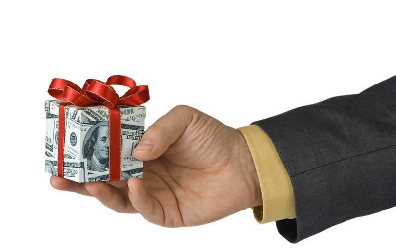پاداش های مالی