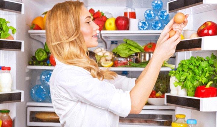 داشتن تغذیه سالم در بخچال