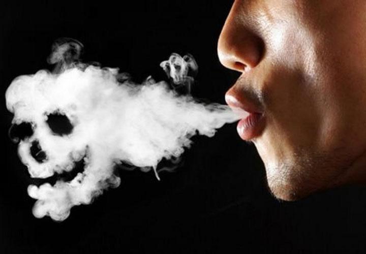 دود سیگار و حمله قلبی