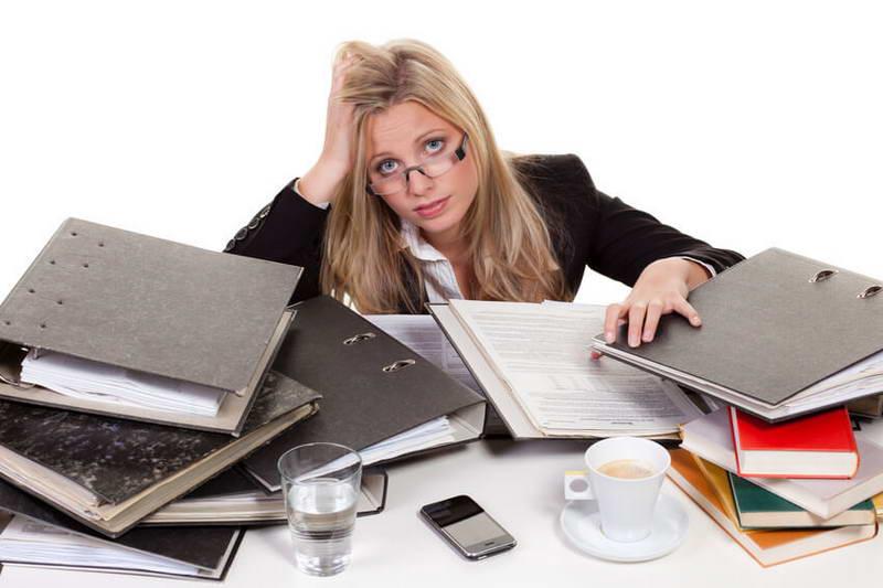 حجم کار و استرس