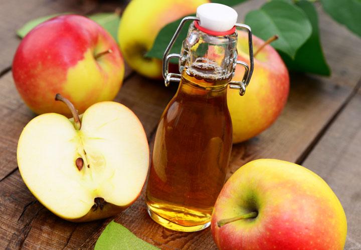 سرکه سیب - درمان جوش