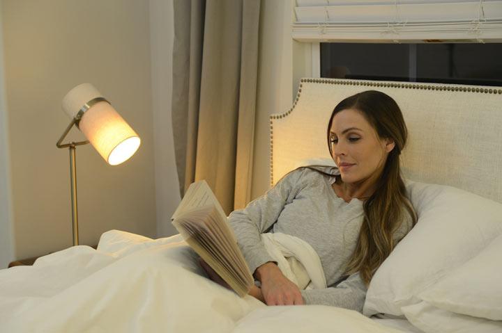 قبل از خواب کتاب بخوانید تا راحتتر بخوابید.