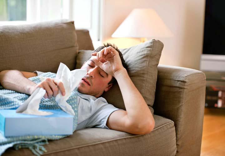 برای درمان سرماخوردگی استراحت کنید