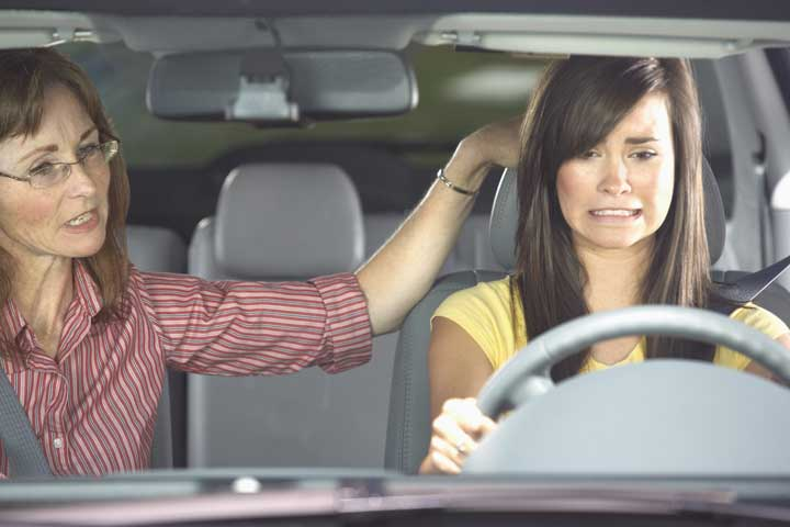 با ترس از رانندگی مواجه شوید.