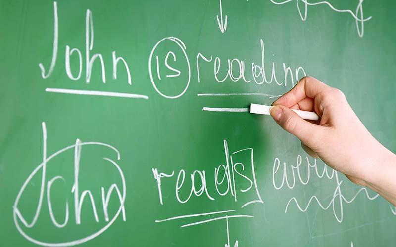 بهترین روش برای یادگیری گرامر زبان انگلیسی