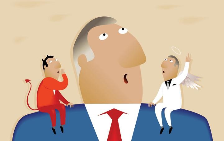 بر سر دوراهی-اخلاق در مدیریت