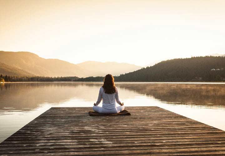 افزایش آرامش اعصاب و کاهش استرس - مدیتیشن تجسمی