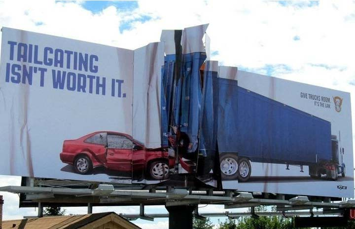 تبلیغات محیطی خلاقانه