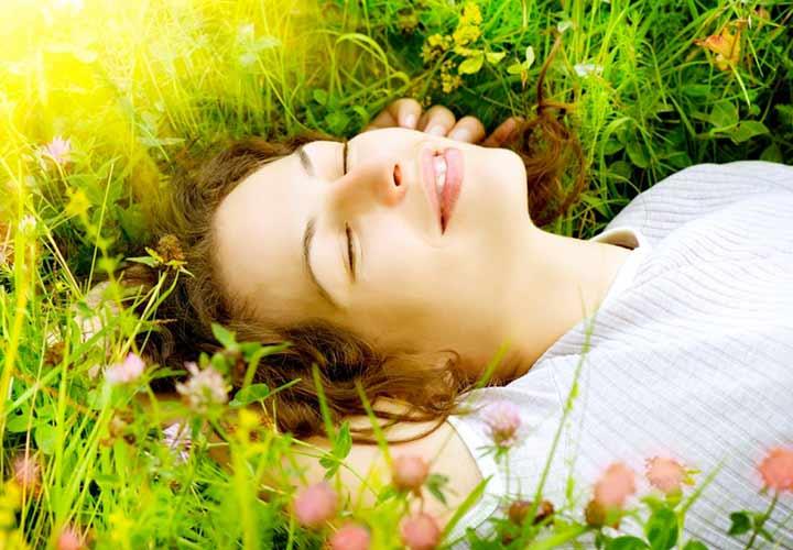 برای درمان اضطراب چیزهای مثبت را در ذهن خود مجسم کنید